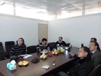 北京大学专家团队来访