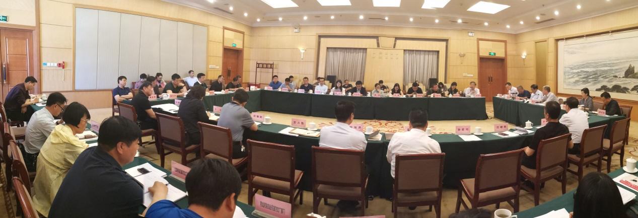 中科数景董事长王英杰应邀参加秦皇岛关于建设长城国家公园的汇报